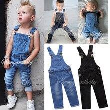 9a2f54c64 Niño niños niñas ropa de verano ropa de bebé niño niña pantalones de moda  de vaquero de puro Color pantalones ropa de niños