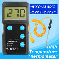 High Accuracy Digital Thermometer Pyrometer Temperature Sensor Hygrometer Tool Measurement Analysis Instruments Meter Tools