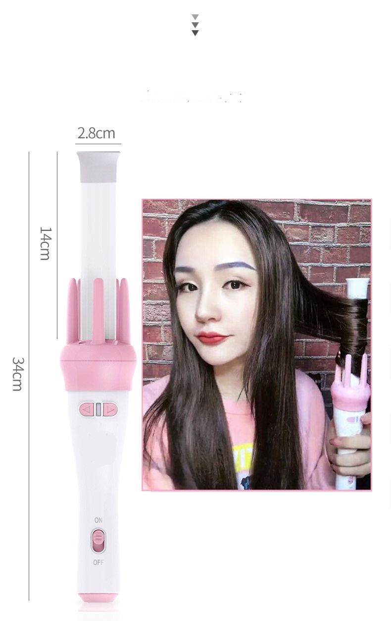 Image 4 - Automatic Curly Hair Stick Hair Curler Fast Styling in 5 Min Ceramic Heating Tube Nourish Hair with Plant Protein Coating-in Curling Irons from Home Appliances