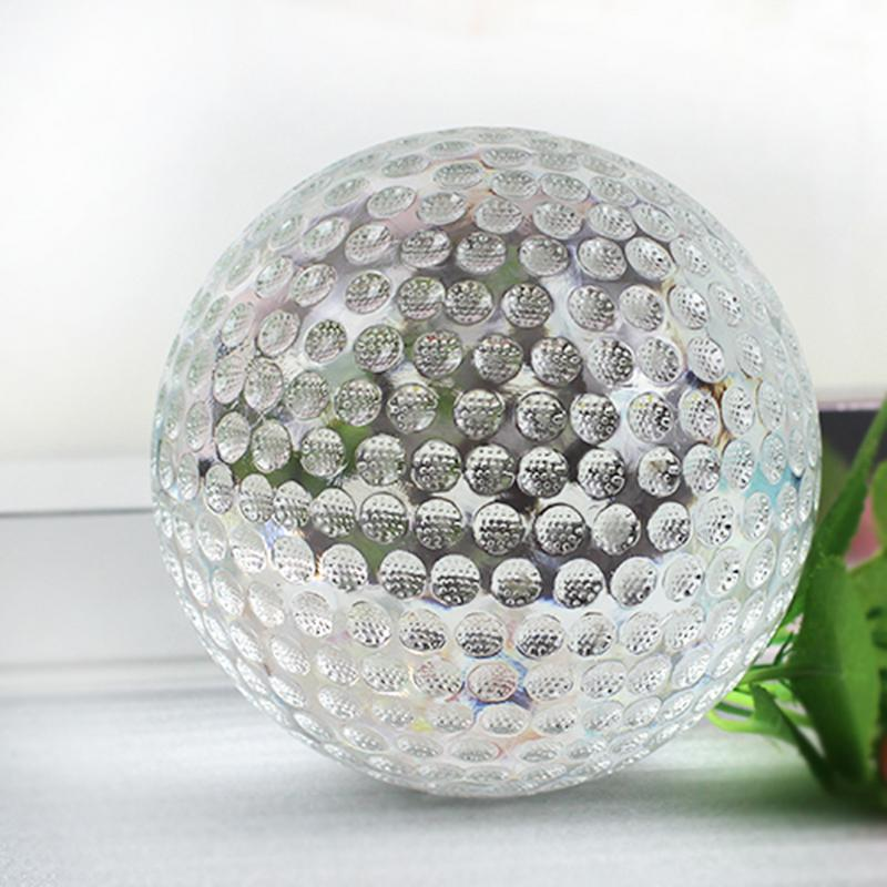 AUGKUN Crystal Glass Ball Golf Home Decoration Innovative Trophy Accessories trophy