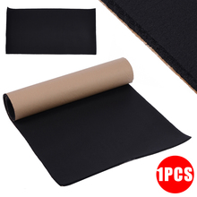 1 Roll 100*50CM 10mm Car Sound Proofing Thermal Insulation Closed Cell Foam  Mat Acoustic Panel Self Adhesiv