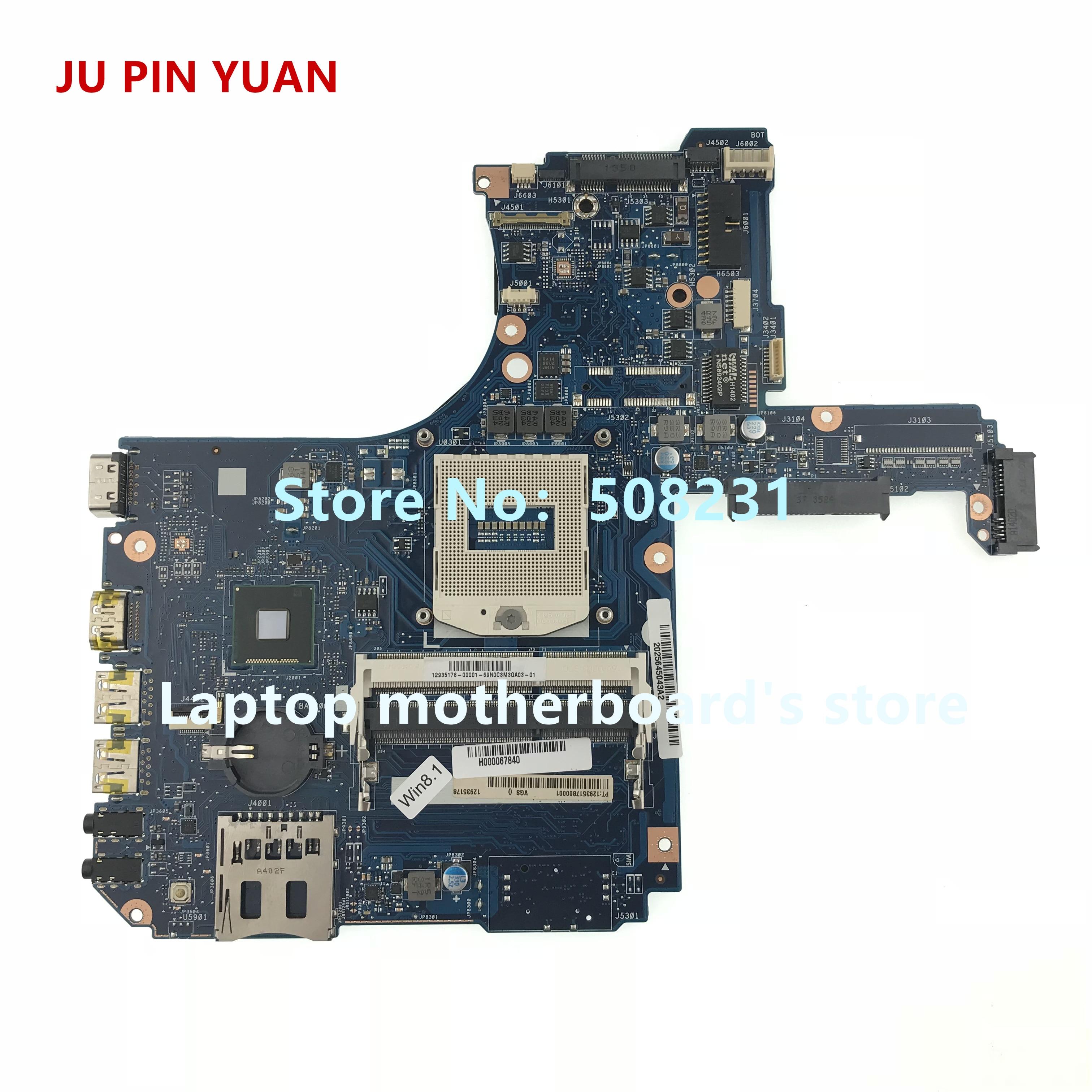 JU PIN YUANS Pour Toshiba Satellite L50-A L55-A mère d'ordinateur portable H000067840 carte mère socket PGA 947 HM86 DDR3L