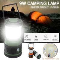 1000lm Portable Super Bright LED Lantern Light dimmable Camping lamp Night Light for Camping Hiking Hanging Tent Lamp
