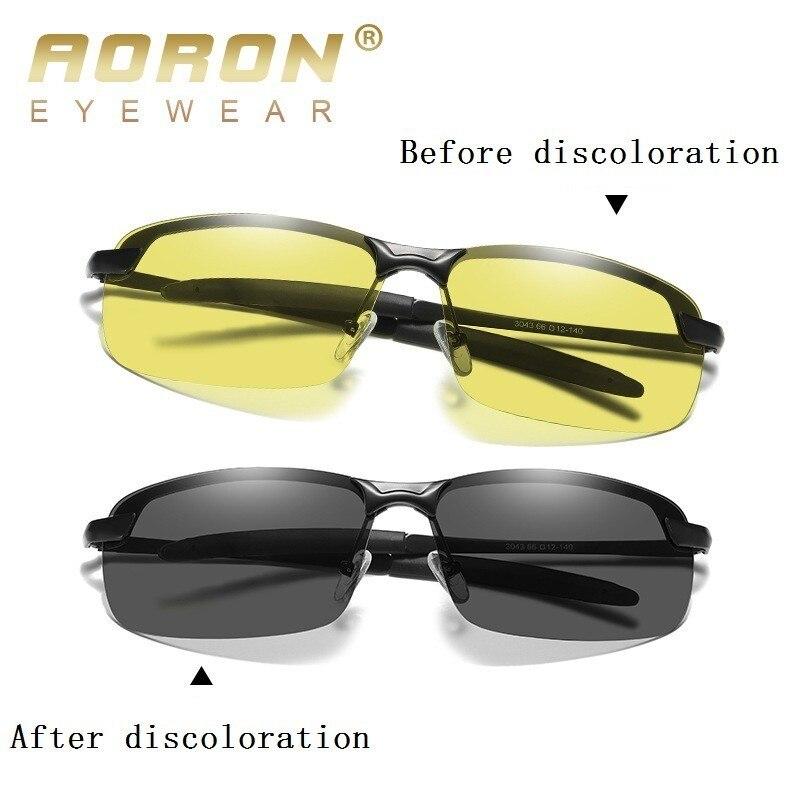eca10137a1 Gafas De Sol polarizadas fotocrómicas inteligentes De marca 2019, lentes  amarillas para hombre y mujer, visión nocturna diurna, Gafas De Sol para  conducir