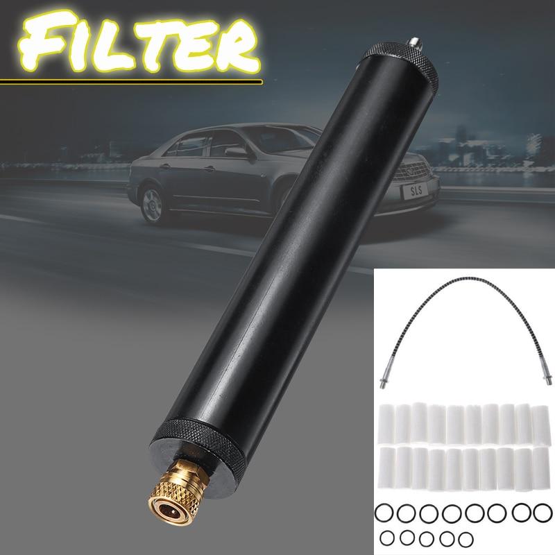 Черный высокого давления 40Mpa PCP воздушный фильтр масляный фильтр сепаратор воды для высокого давления PCP компрессор 300bar воздушный электронный PCP Насос-in Пейнтбольные аксессуары from Спорт и развлечения