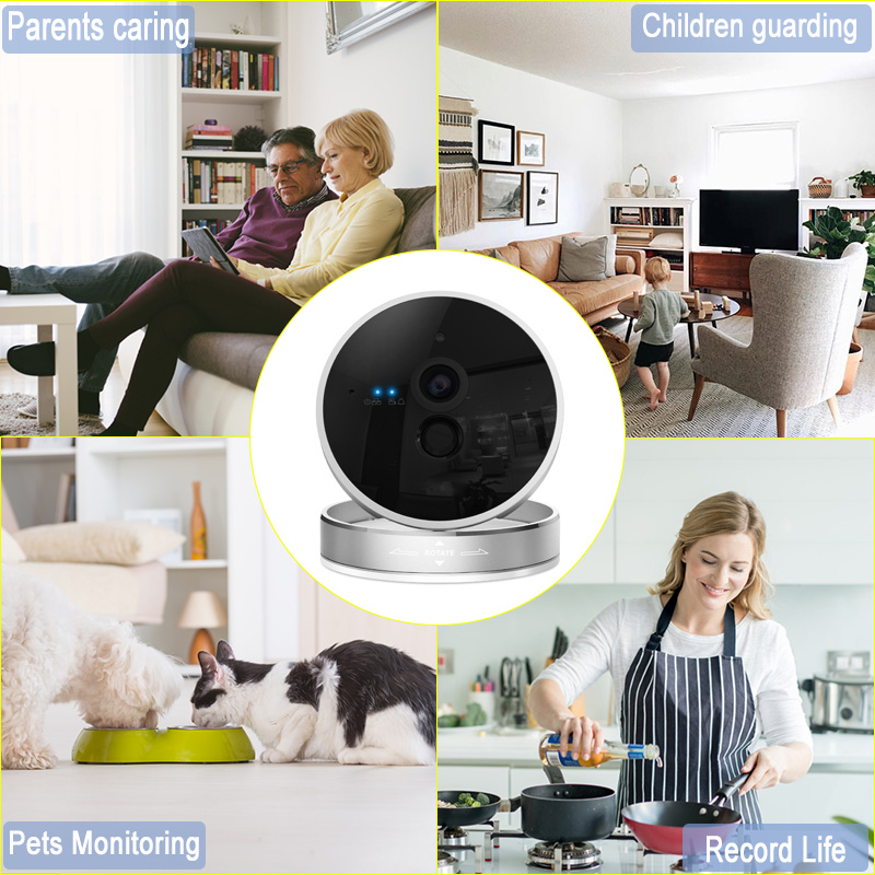 Graneywell WiFi Camera 1080P HD CCTV Security Camera Home Security Wireless Camera Baby Monitor IR Night surveillance Camera - 4