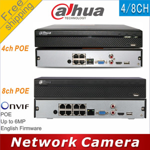 Image 1 - Free shipping Dahua NVR2104HS P replace NVR2104HS P S2 NVR2108HS 8P replace NVR2108HS 8P S2 4/8CH POE NVR Network Video Recorder