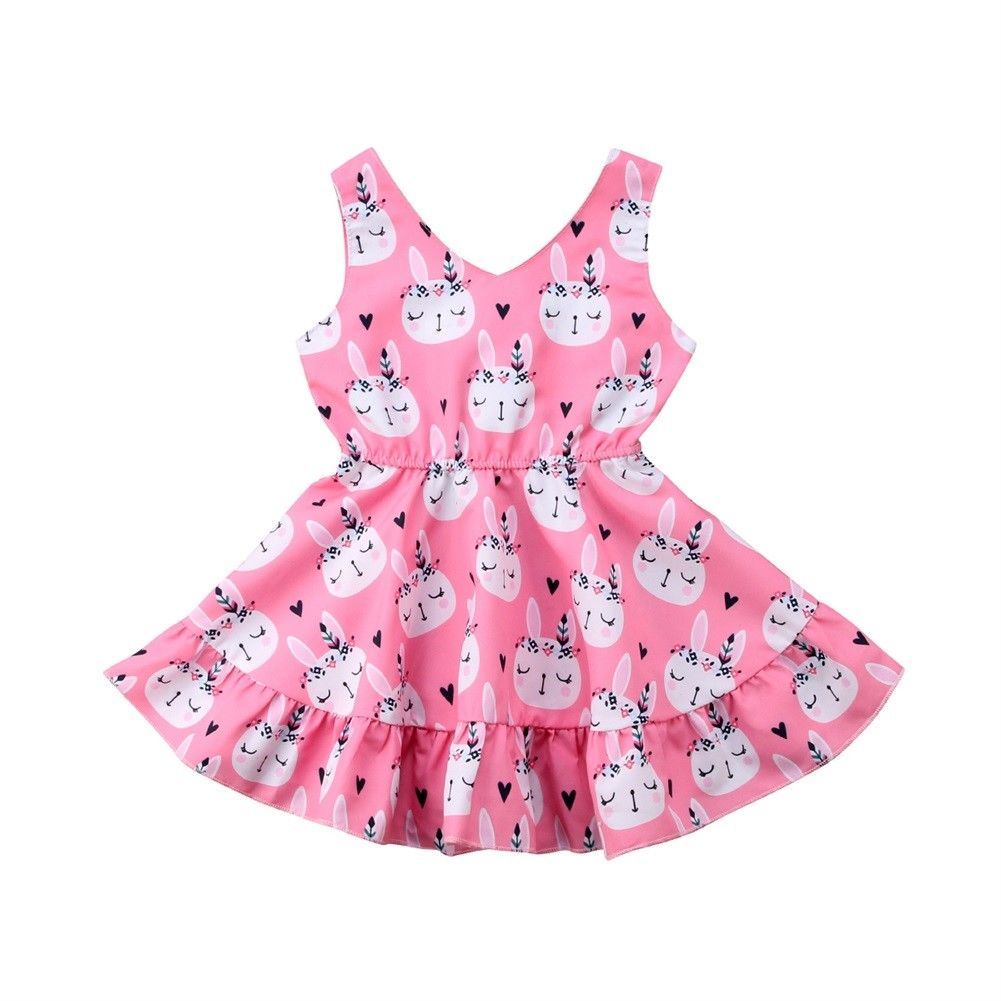 Easter Dress Infant Toddler Baby Girls Princess Tutu Dresses Pink Bunny Rabbit Wedding Party Pageant Gown Summer ClothesEaster Dress Infant Toddler Baby Girls Princess Tutu Dresses Pink Bunny Rabbit Wedding Party Pageant Gown Summer Clothes