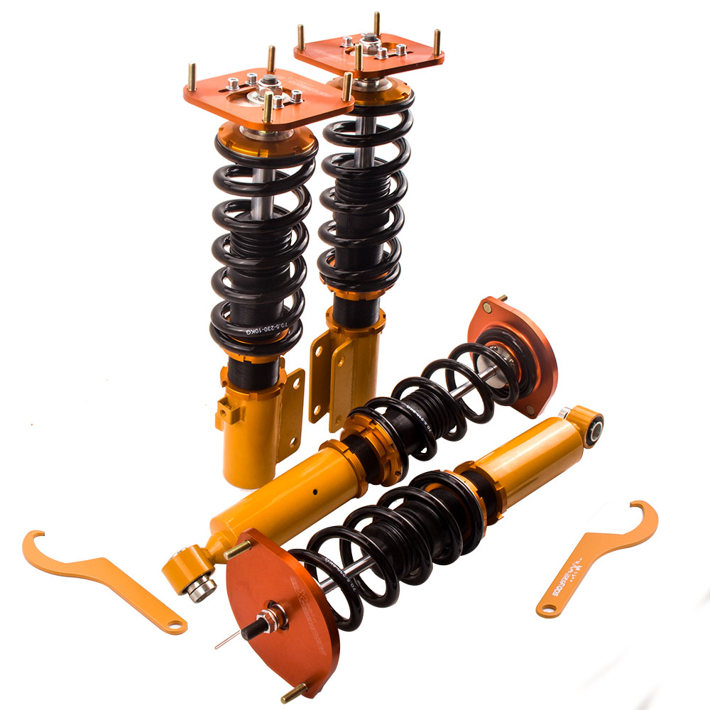Coilover Suspension for Mazda RX7 RX-7 FC FC3S shock kit fits Savanna RX7 1.3L R2 GAS Coupe CoiloversCoilover Suspension for Mazda RX7 RX-7 FC FC3S shock kit fits Savanna RX7 1.3L R2 GAS Coupe Coilovers