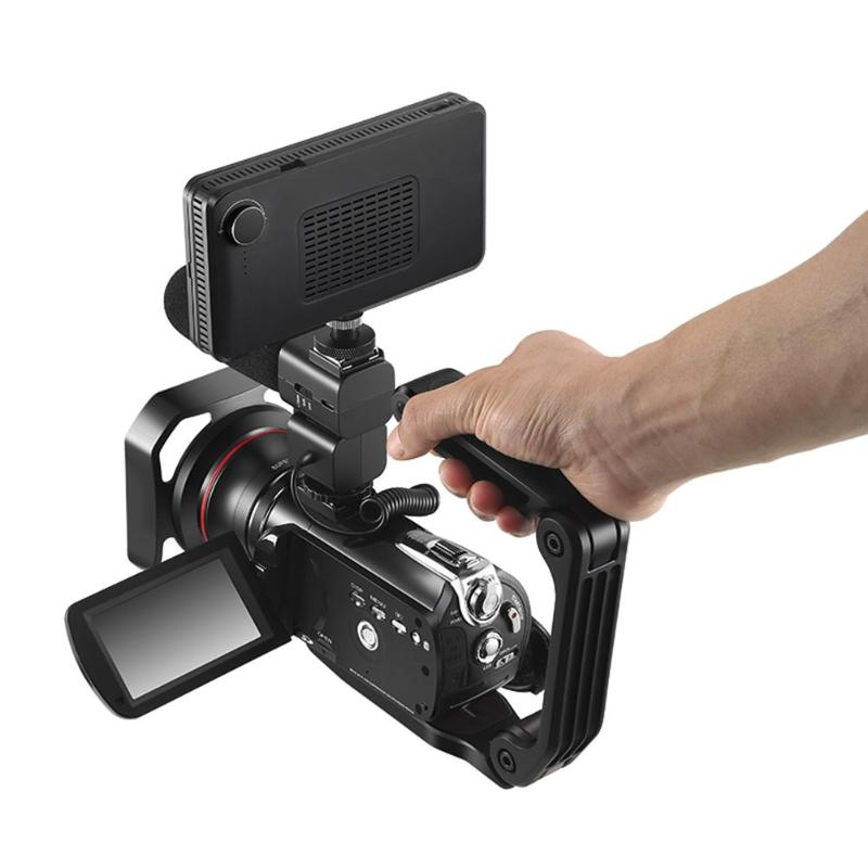 100% QualitäT Alloyseed Hc-1 C Geformt Handheld Stabilisator Pa66 Stabilisierung Grip Griff Halter Für Slr Kamera Verkaufsrabatt 50-70%