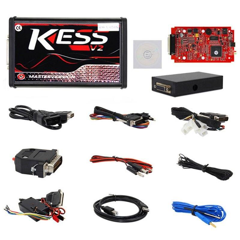 Kess V2 V5.017 w wersji Online nie żetony ograniczenie V2.47 Kess V2 Obd2 menedżer zestaw do tuningu samochodów Auto ciężarówka Ecu programista