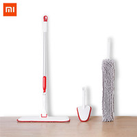 XIAOMI YIJIE Mutifunctional Cleaning Sets sofa Handheld Flat Mop Duster bathroom Cleaning Brush Home Household Cleaning Tools