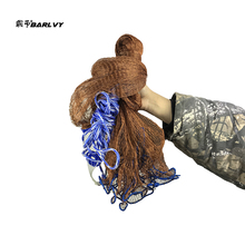 2.4m-7.2m Fishing Net Usa Style Cast Network Without Sports Hand Throw Small Mesh