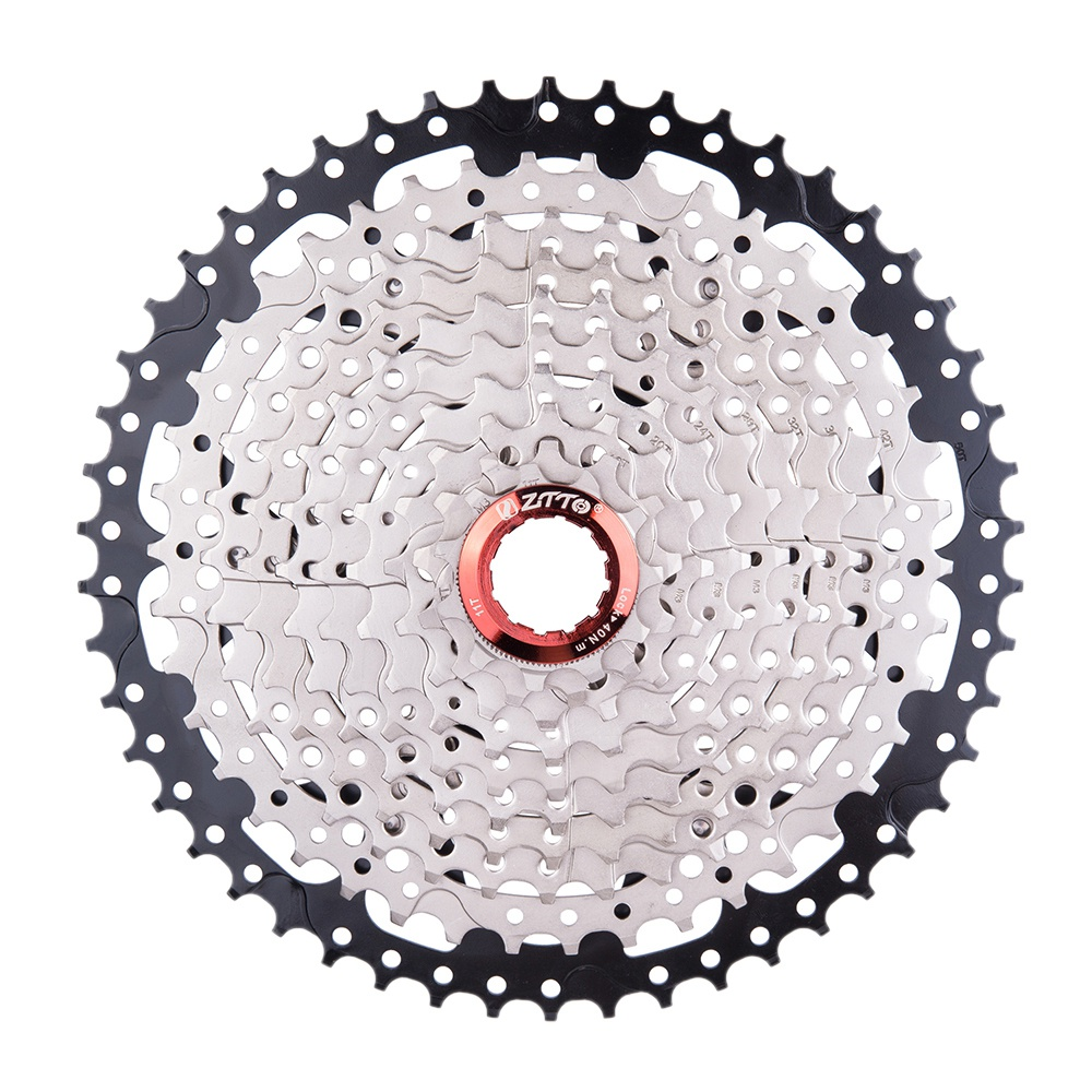 ZTTO 10 Speed 11 50T Mtb Mountain Bike Bicycle Cassette Flywheel Sprocket Compatible With Sunrace
