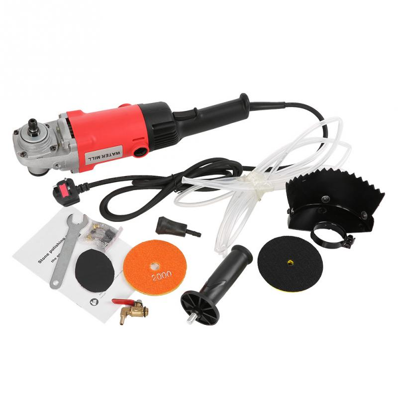 Wet Polisher Grinder Professional Electric Stone Wet Polisher Variable Speed Hand Grinder Water Mill Grinding Tools