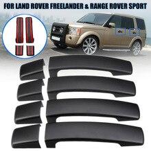 1 комплект экстерьера автомобиля дверные ручки крышки Накладка для Land Rover LR2 LR3 freelander Range Rover Sport freelander 2 2005-2009