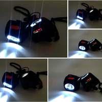 4500LM 3W Miner Lamp Digital Light LED Display Helmet Cap Lamp Cordless Headlamp Head Belt Charger Portable Lighting Outdoor