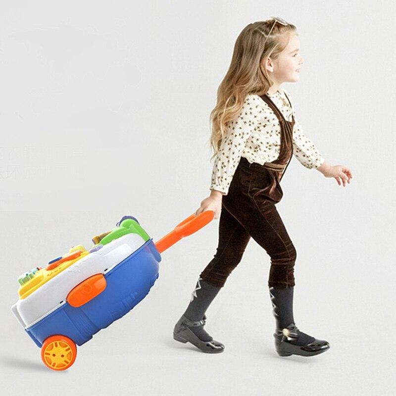 Valise pour enfants sac à dos léger valise transportant la roue de bagage - 2