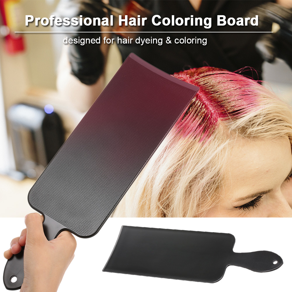 Hair Coloring Board Hair Tint Dyeing Highlighting Board Hairdressing Professional Pick Color Balayage Board Tool