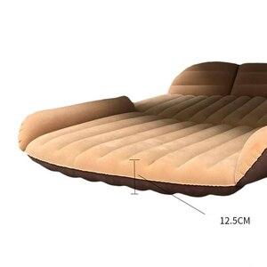 Image 2 - 190*119*12.5 سنتيمتر سيارة مخيمات السرير SUV نفخ سيارة فراش ل فراش السيارات يتدفقون المحمولة نفخ وسادة سيارة سرير سفر