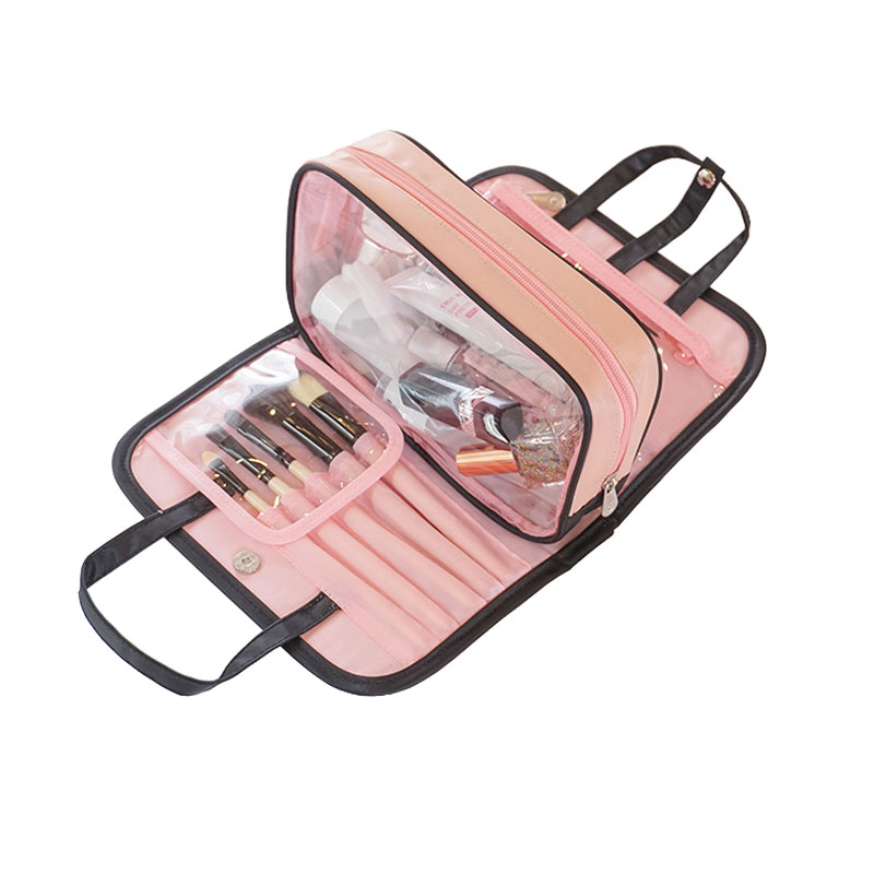 Cosmetic Case Toiletries-Bag Beauty-Kit Travel Portable Fashion Lady Oxford Creative-Design