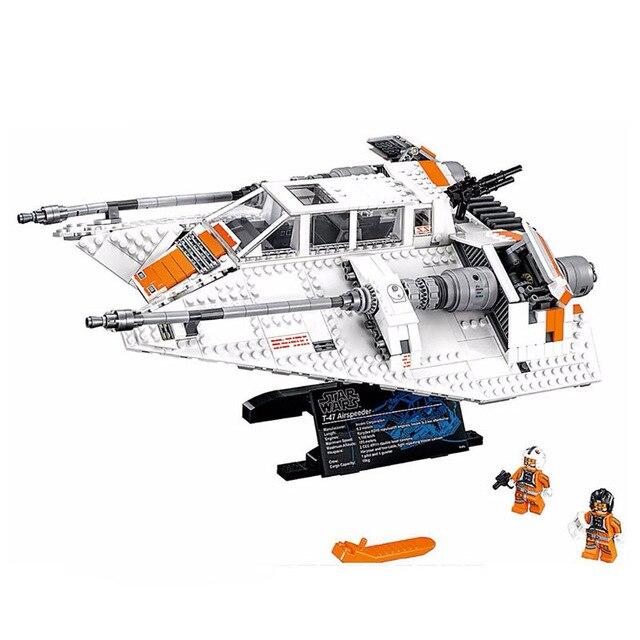 Star Wars Le Rebel Sowspeeder Modèle de Construction Briques Blocs Compatible legoings 10129 05084 Jouets Éducatifs pour Enfants Cadeaux