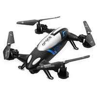 L6055 2.4G 4 Channel 6 Axis Gyro 2MP Wifi CAM RC Quadcopter Car with LED Light RTF