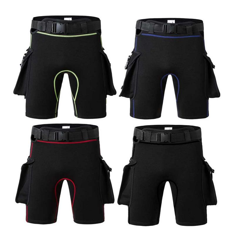 Diving Shorts Sunscreen Belt Weight Bag Adjustable Tight Deep Diving Shorts Neoprene PantsDiving Shorts Sunscreen Belt Weight Bag Adjustable Tight Deep Diving Shorts Neoprene Pants