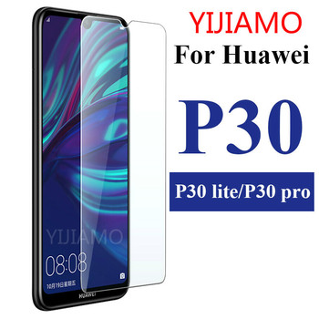 Huawei P30 Lite Glass Tempered For Huawei P20 Lite Screen Protector 5.84 inch Transparent Protective Glass For Huawei P10 P9Lite image