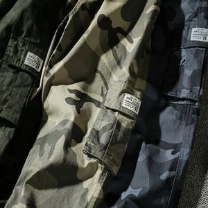 Image 5 - 7XL ผู้ชาย 2019 ฤดูใบไม้ผลิฤดูใบไม้ร่วงฝ้ายกระเป๋ากางเกง Cargo กางเกงผู้ชายกองทัพทหารยุทธวิธีขนแกะกางเกงกางเกงผู้ชาย