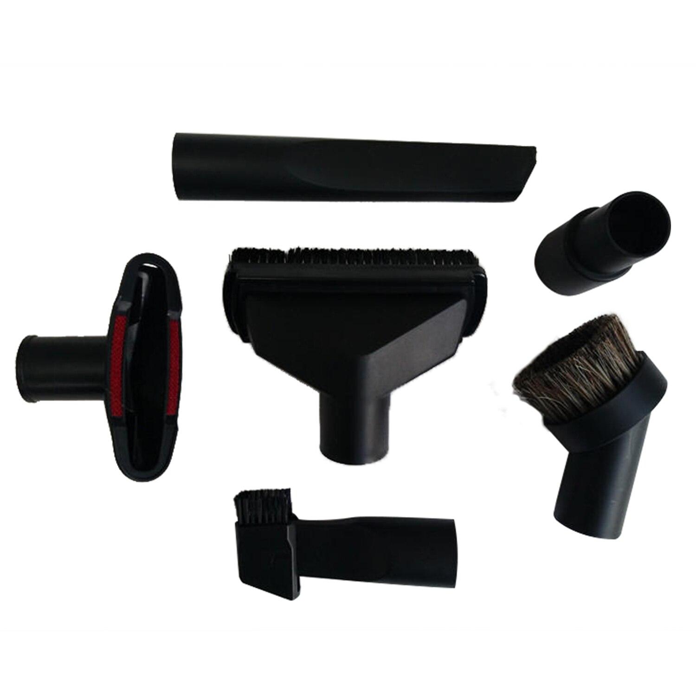 Универсальный пылесос аксессуары очистки комплект для кисточек сопла щелевая насадка для 32 мм и 35 мм Стандартный шланг 6 шт