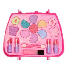 лучшая цена BellyLady Kids Girl Makeup Set Eco-friendly Cosmetic Pretend Play Kit Princess Toy Gift