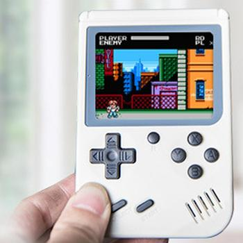 Mini Video Game Console 8 Bit Retro Pocket Handheld Game Player Built-in 168 Classic Games Best Gift for Child Nostalgic Player
