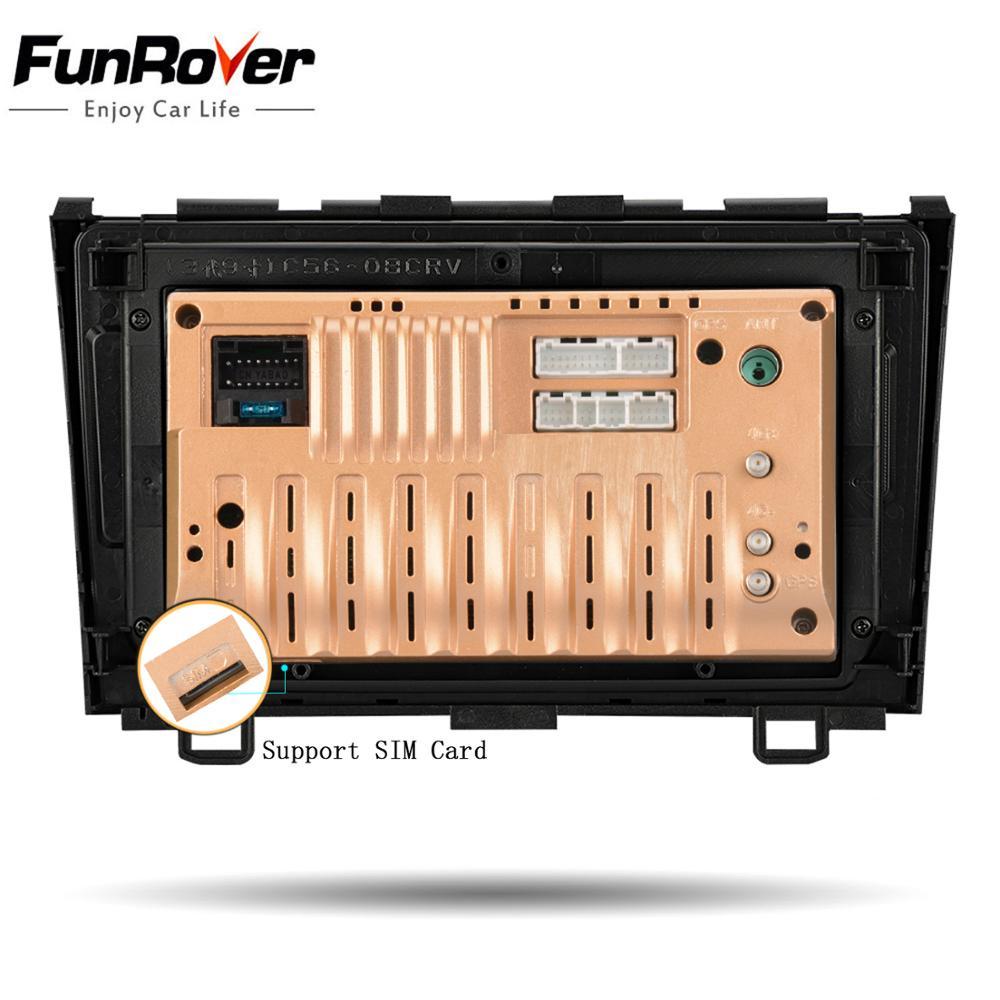 Lecteur multimédia dvd de voiture Funrover 8 cœurs Android 8.1 pour Honda CRV 2006-2011 autoradio stéréo gps navi DSP 4G 64G LTE - 6