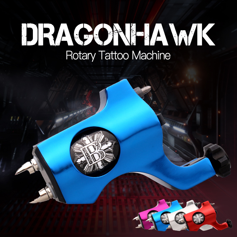 Rotary Tattoo Machine Style Four Colors For Tattoo Shader Liner Fashion Tattoo Machine Free Shipping