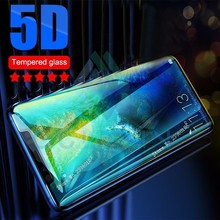 5D On P Smart Plus Protective Glass for Huawei Mate 20 10 30 Lite Full Cover Tempered Honor 8X 7X 9 Glas