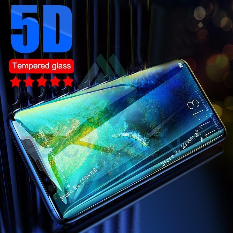 5D On P Smart Plus Protective <font><b>Glass</b></font> for <font><b>Huawei</b></font> Mate 20 10 P 30 20 Lite Full Cover Tempered <font><b>Glass</b></font> for <font><b>Honor</b></font> 8X 7X 9 10 Lite Glas image