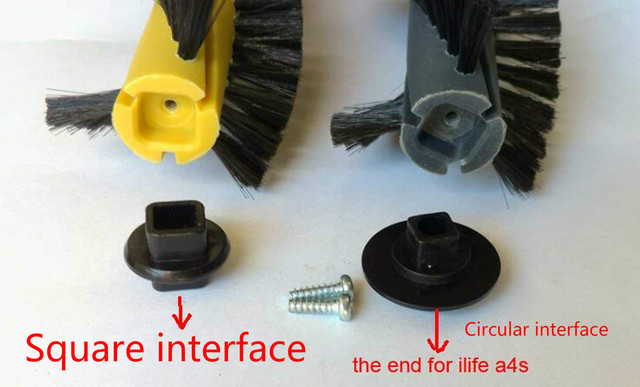 ILIFE A4 chuwi ilife A4s A40 Robot Vacuum Cleaner Replacement accessories Parts Kits- Filter Main Brush Side Brushes
