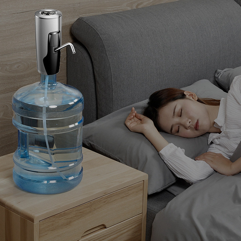 Usb Charging Automatic Timing Quantitative Pump Water Dispenser Button Dispenser Gallon Device Drinking Water Switch For Pumpi in Water Dispenser Parts from Home Appliances