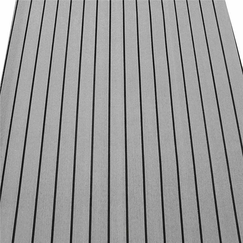 Новый 240 см x 90 см x 6 мм EVA пена искусственный тик лист лодка яхты синтетический Тиковый настил с клеем для лодки