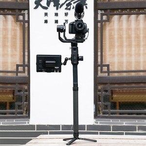 Image 4 - Alliage daluminium étendre tige bâton pour Dji Ronin S Osmo Vimble 2 grue lisse 4 Feiyu G6 G5 AK4000 A2000 télescopique à main