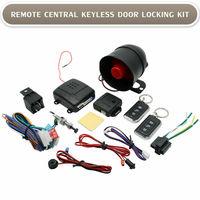Standard Alarm Car Alarm Immobiliser 2 Door Remote Central Locking Kit Shock Sensor12V