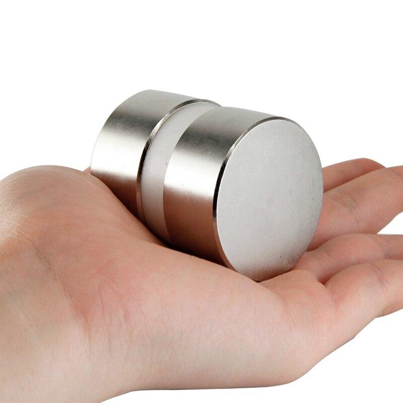 2Pcs 40Mm X 20Mm Super Powerful Round Water Meter Magnet Tool2Pcs 40Mm X 20Mm Super Powerful Round Water Meter Magnet Tool