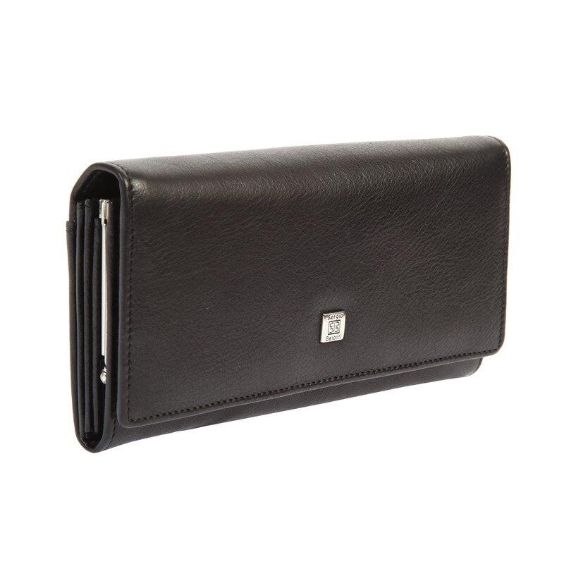 Wallets SergioBelotti 1122 west black стоимость