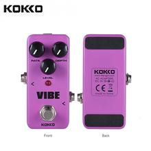 KOKKO Guitar Effects Pedal High Quality Electric Guitar Pedal Overdrive Booster Compressor for Guitar Parts & Accessories kokko kw 1 guitarra pedal high quality guitar accessories vol wah guitar pedal for guitar lovers