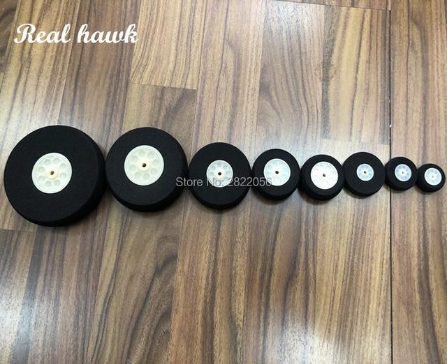 1pcs/lot High quality Airplane Wheels diamete 30/35/40/45/50/55/60/65/70/75/80/90mm Airplane sponge wheels sponge tire
