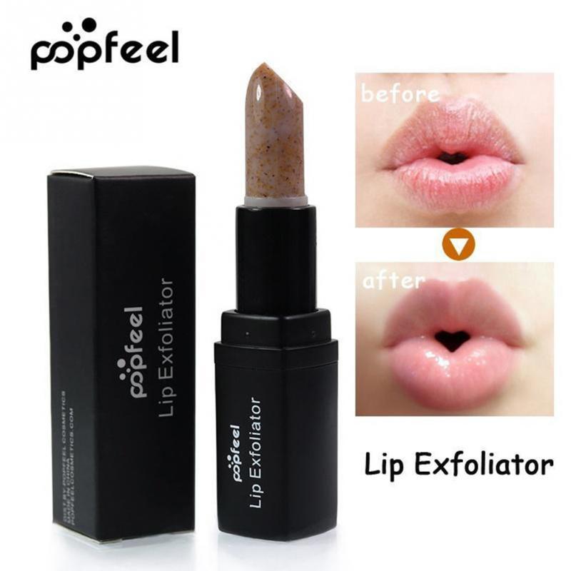 Women Lip Balm Lip Exfoliating Scrub Anti Ageing Wrinkle Lipstick Ladies Makeup Tools #5 2