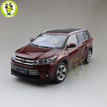 1/18 Highlander 2018 Diecast SUV Car Model Toys Kids Boy Girl Gifts Red - SALE ITEM Toys & Hobbies