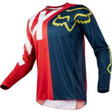 Wholesale MOTO Jersey Motorcycle Jerseys Long Sleeve XC Motorcycle GP Mountain Bike Motocross Jersey BMX DH MTB T Shirt Clothes