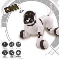 Детский интерактивный Электрический Танцующий Робот игрушка музыкальное освещение пение голос робот Подушка собака Детская игрушка празд